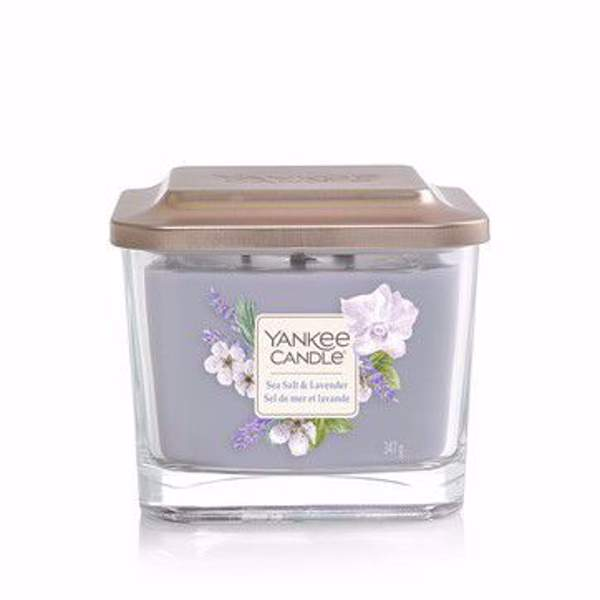 Immagine di Sea Salt & Lavender Candela media a 3 stoppini