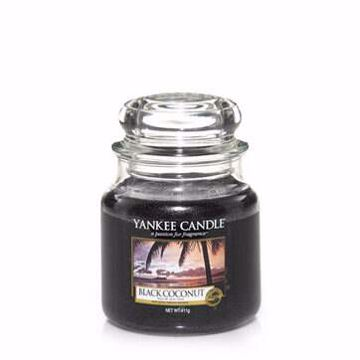 Immagine di Candela in giara media black coconut