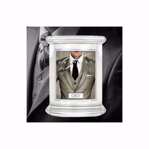 Immagine di Grey - Candela in Giara Media Kringle Candle