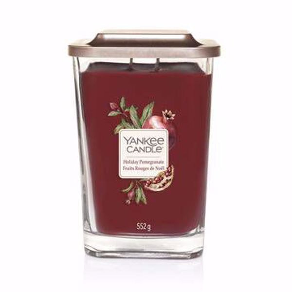 Immagine di Holiday Pomegranate Candela Grande a Due Stoppini