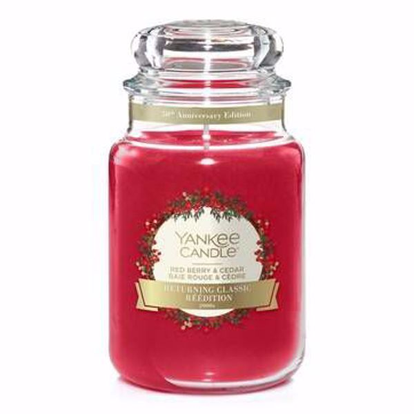 Immagine di Candela in Giara Grande Red Berry & Cedar