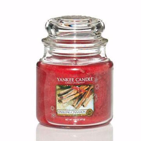 Immagine di Candela in Giara Media Sparkling Cinnamon