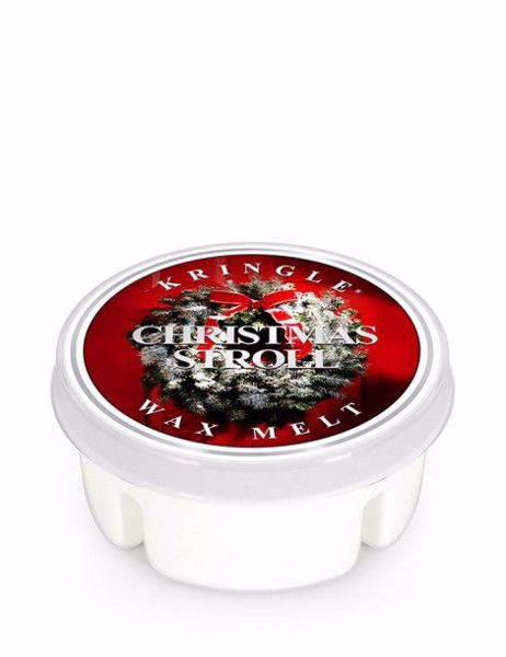 Immagine di Christmas Stroll Wax Melt Kringle Candle