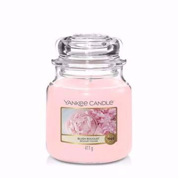 Immagine di Candela in Giara Media Blush Bouquet